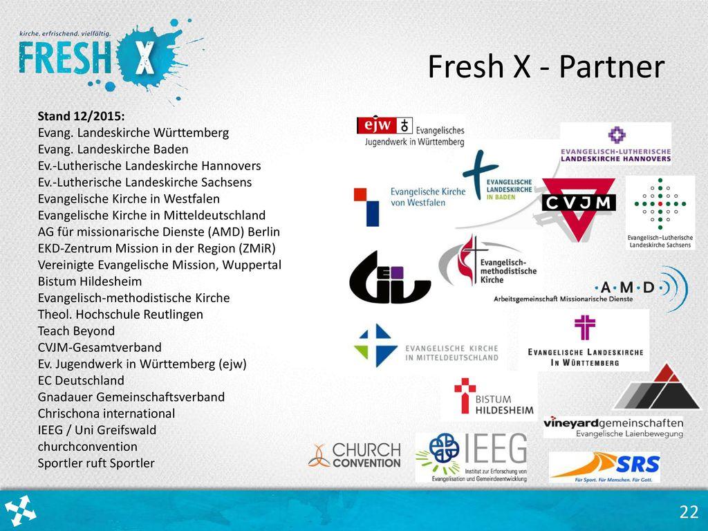 Fresh X - Partner Stand 12/2015: Evang. Landeskirche Württemberg