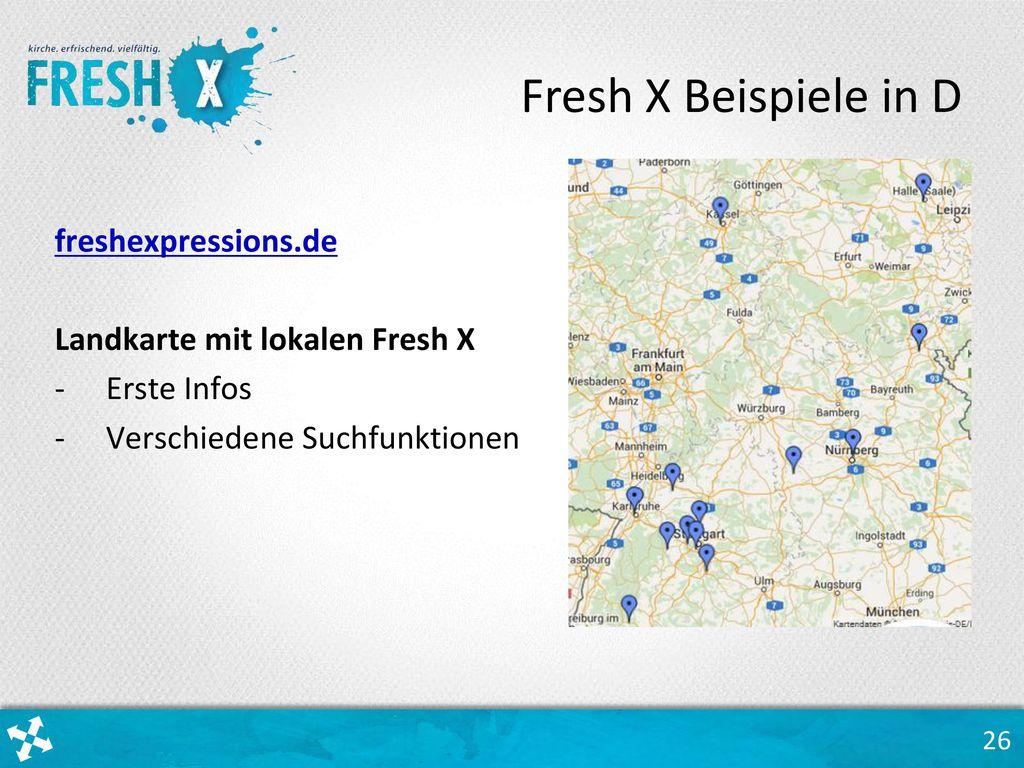 Fresh X Beispiele in D freshexpressions.de