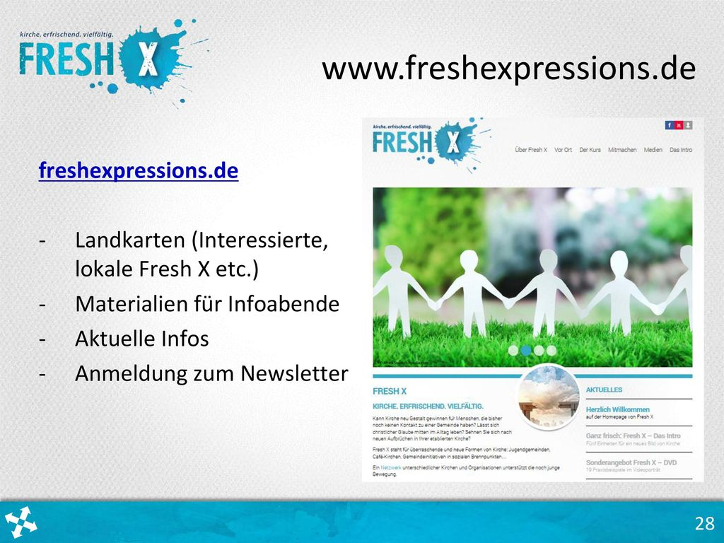 www.freshexpressions.de freshexpressions.de