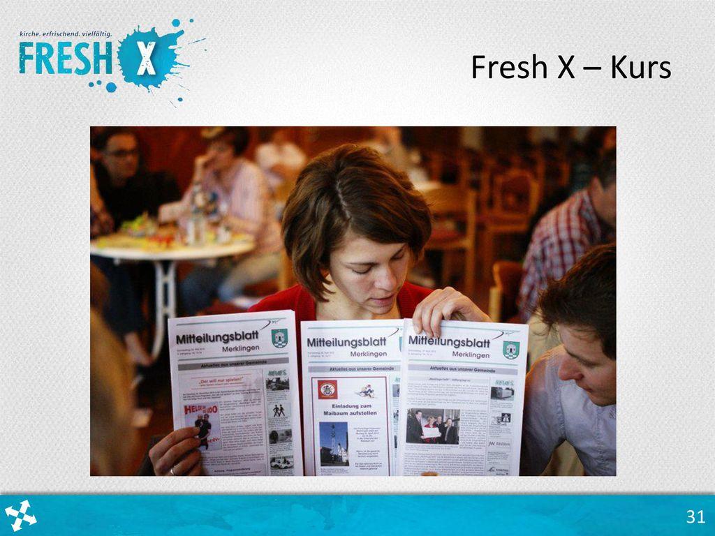 Fresh X – Kurs Einblick in einen Fresh X – Kurs.