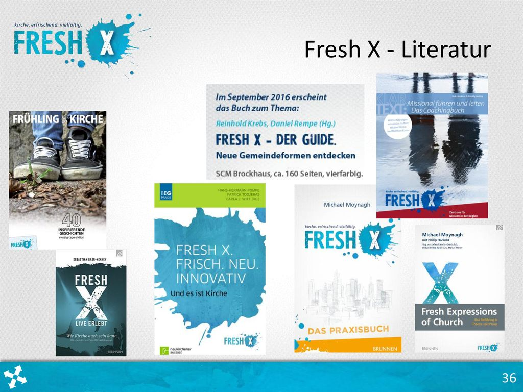 Fresh X - Literatur