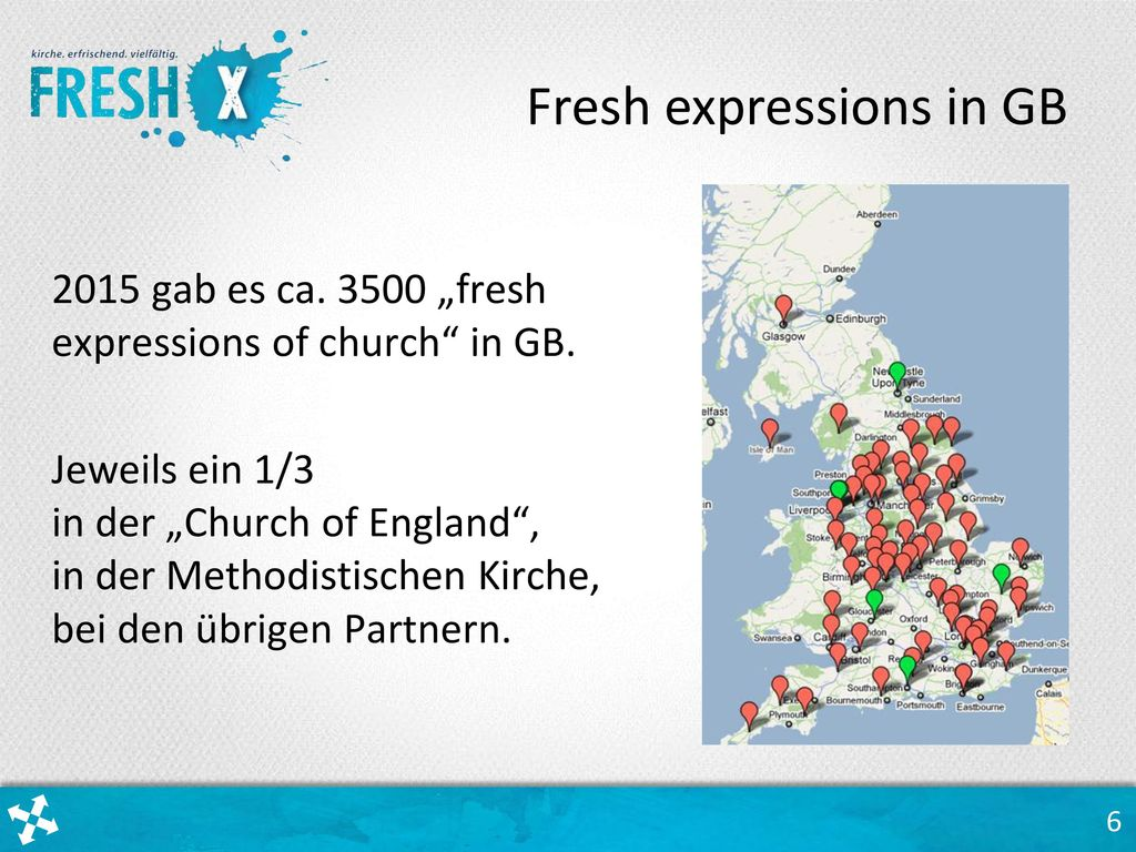 Fresh expressions in GB