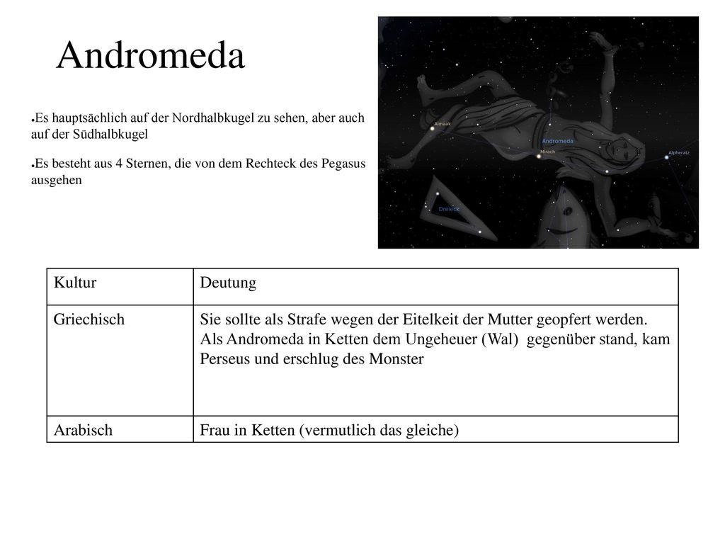 Andromeda Kultur Deutung Griechisch