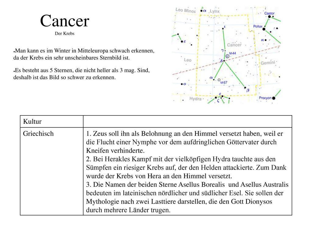 Cancer Der Krebs Kultur Griechisch
