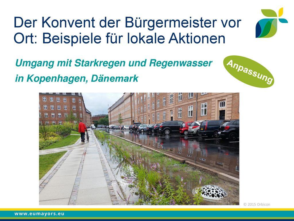 Der Konvent der Bürgermeister vor Ort: Beispiele für lokale Aktionen