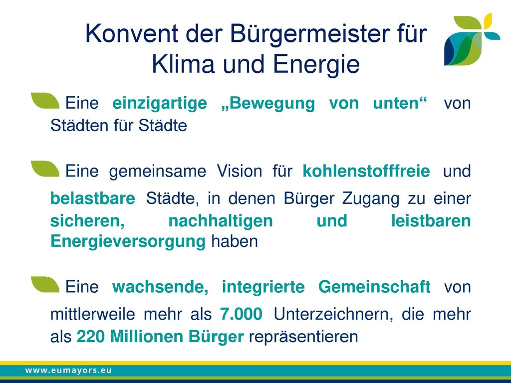 Konvent der Bürgermeister für Klima und Energie