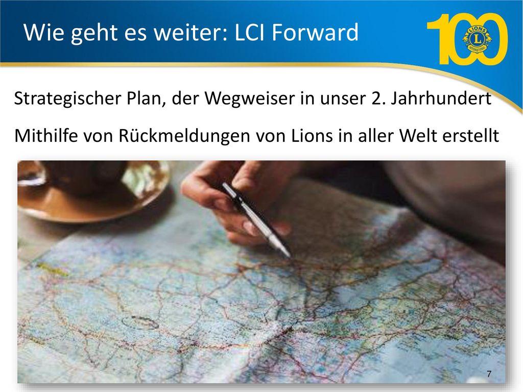 Wie geht es weiter: LCI Forward