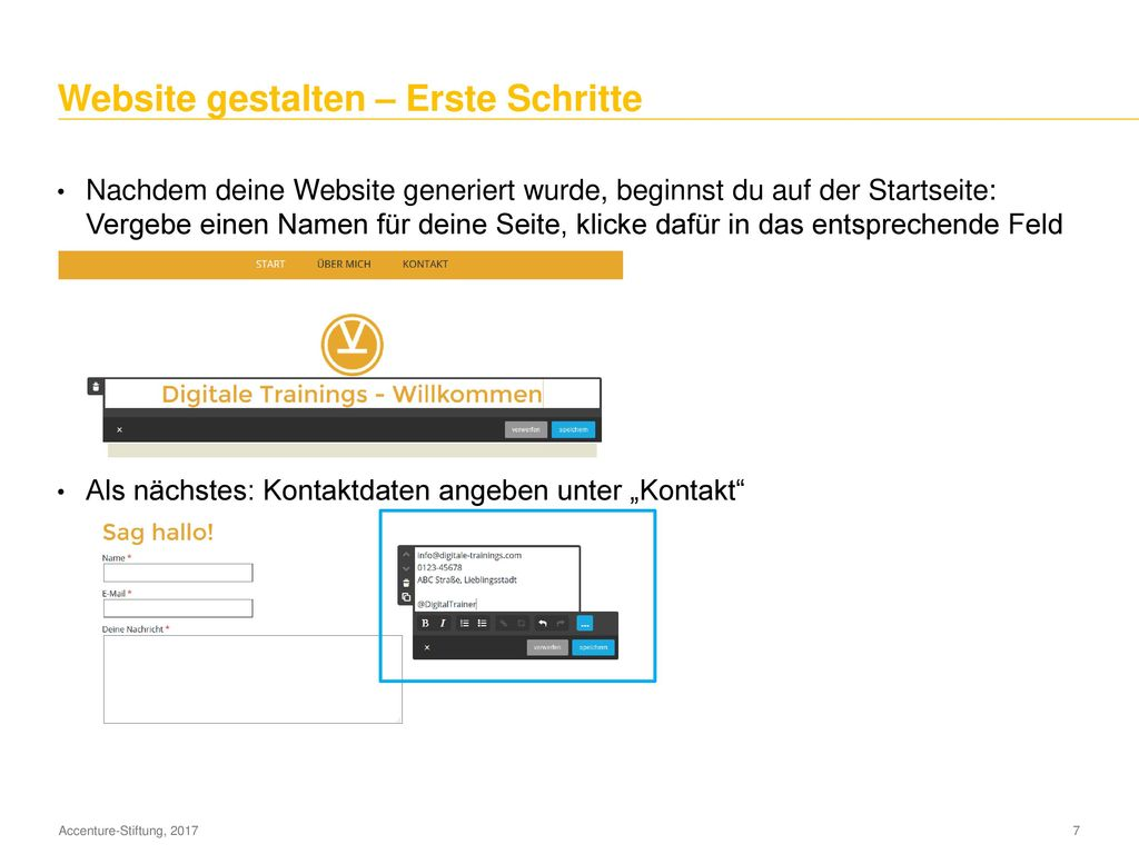 Einleitung: Wozu eine eigene Website / Blog