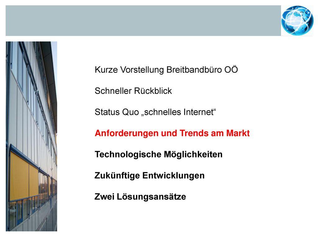 Kurze Vorstellung Breitbandbüro OÖ