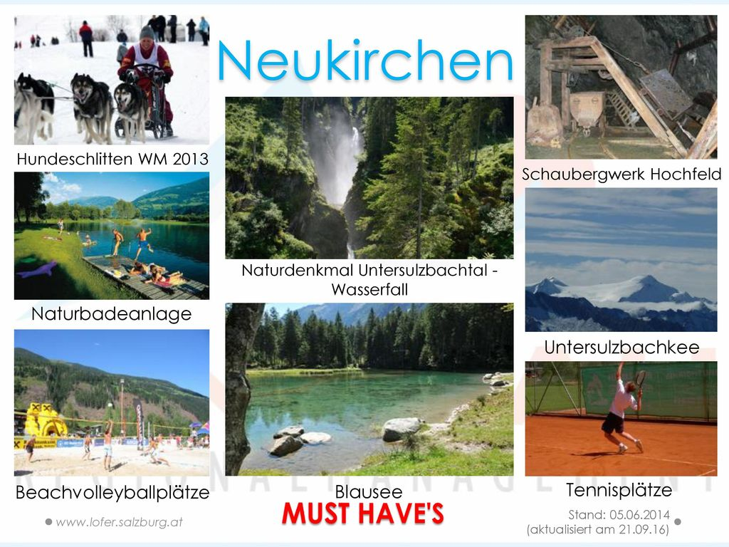 Neukirchen MUST HAVE S Naturbadeanlage Untersulzbachkee Tennisplätze