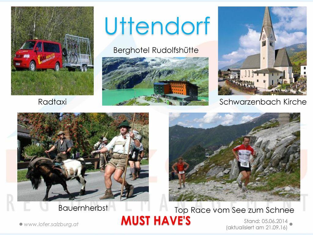 Uttendorf MUST HAVE S Berghotel Rudolfshütte Radtaxi