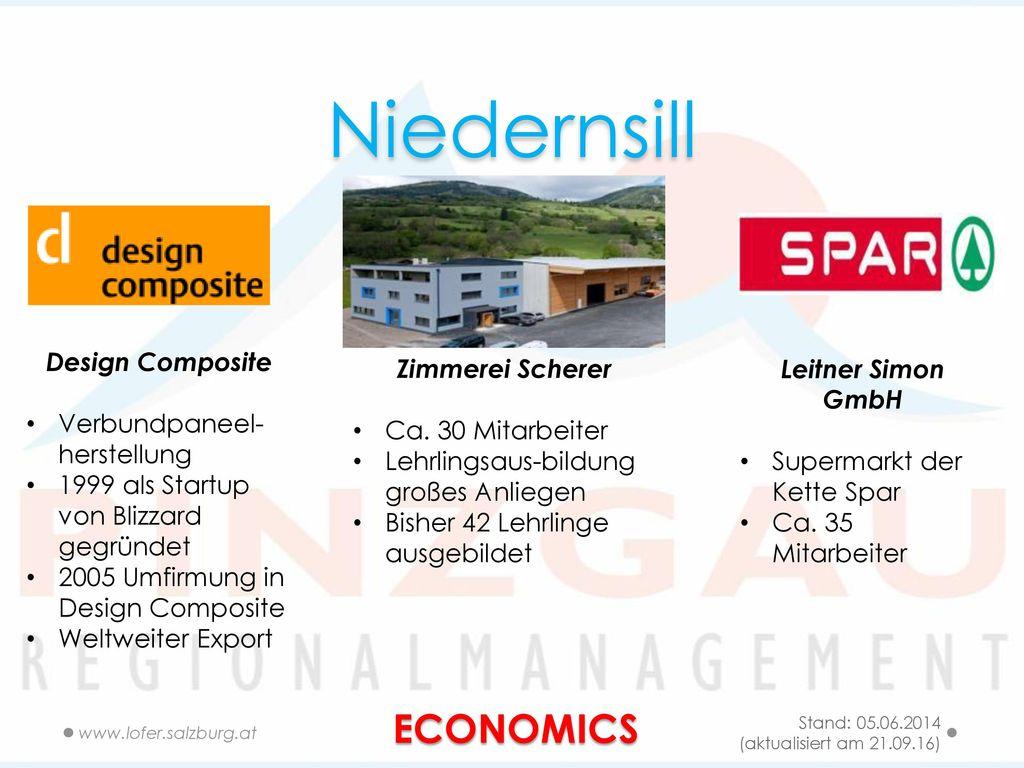 Niedernsill ECONOMICS Design Composite Verbundpaneel-herstellung