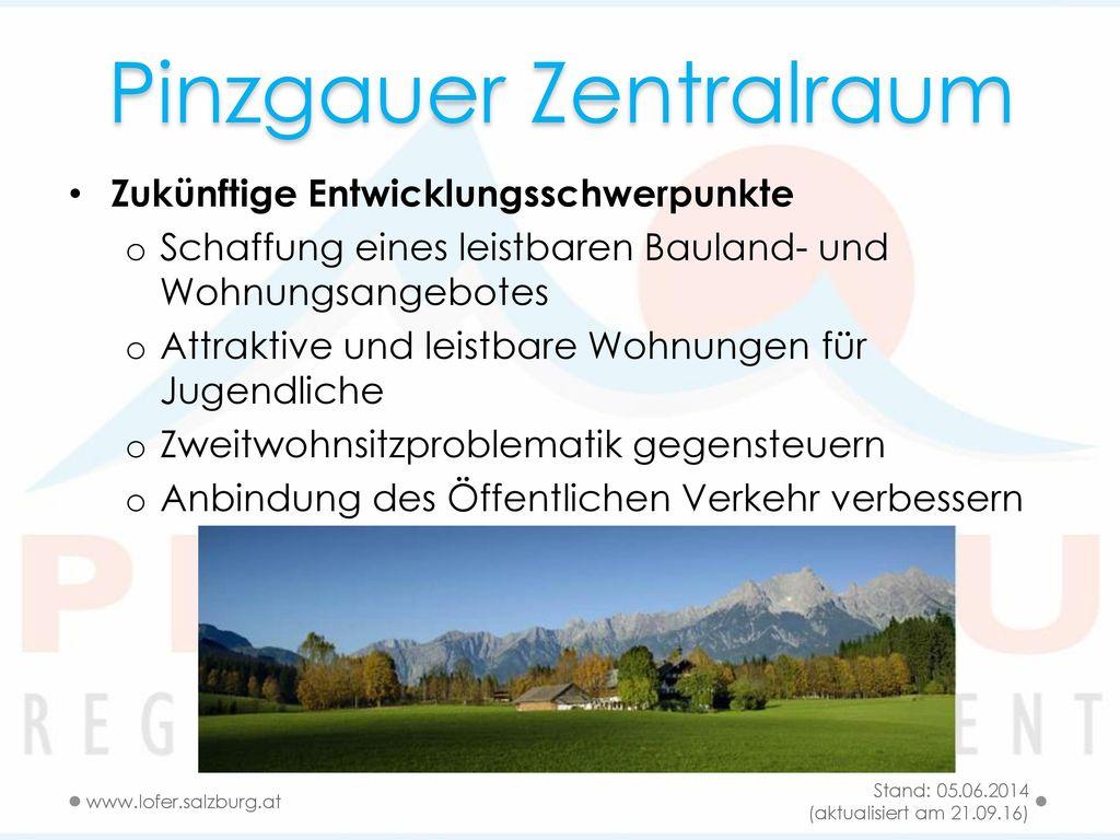 Pinzgauer Zentralraum