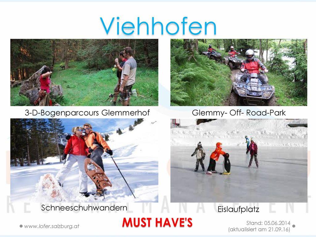 Viehhofen MUST HAVE S 3-D-Bogenparcours Glemmerhof
