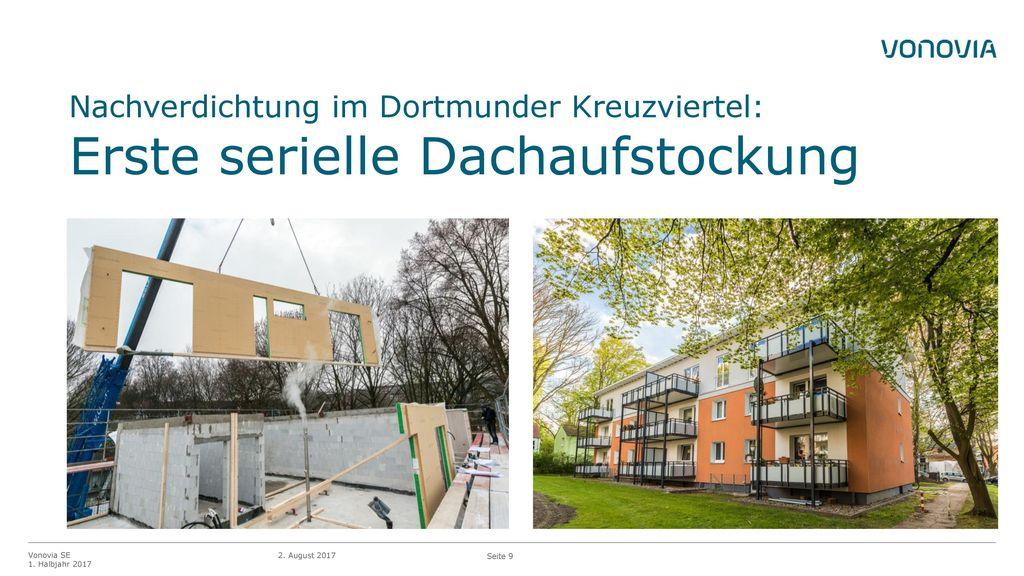 Nachverdichtung im Dortmunder Kreuzviertel: Erste serielle Dachaufstockung