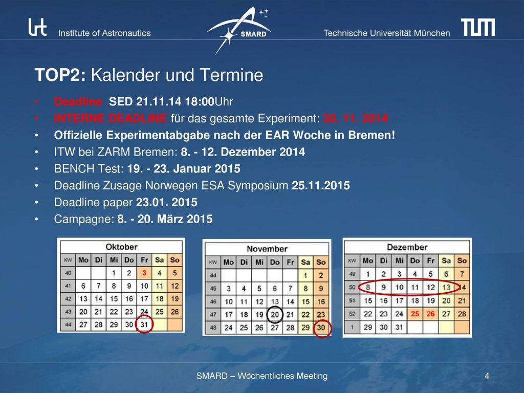 TOP2: Kalender und Termine