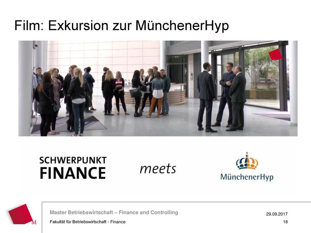 Film: Exkursion zur MünchenerHyp