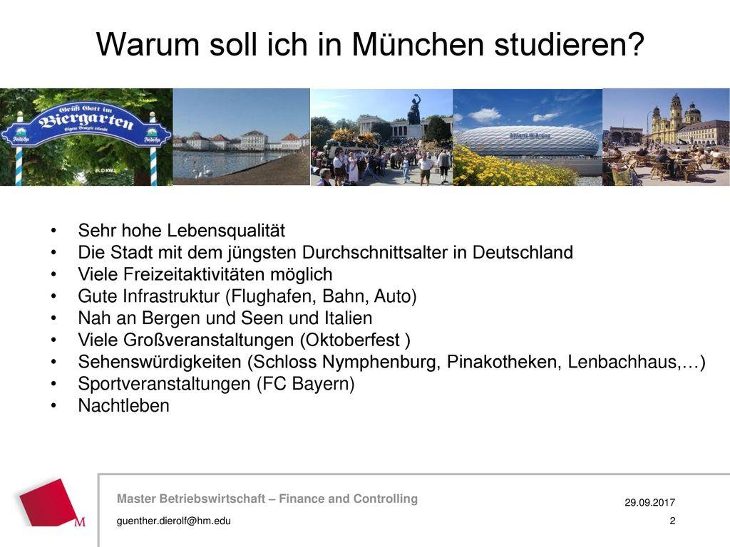 Warum soll ich in München studieren