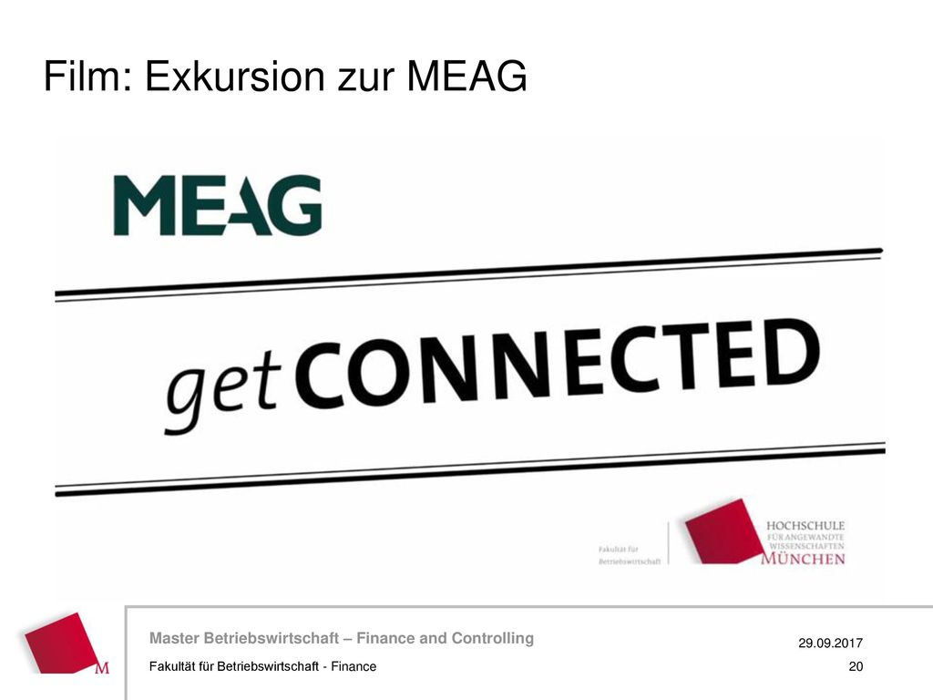 Film: Exkursion zur MEAG
