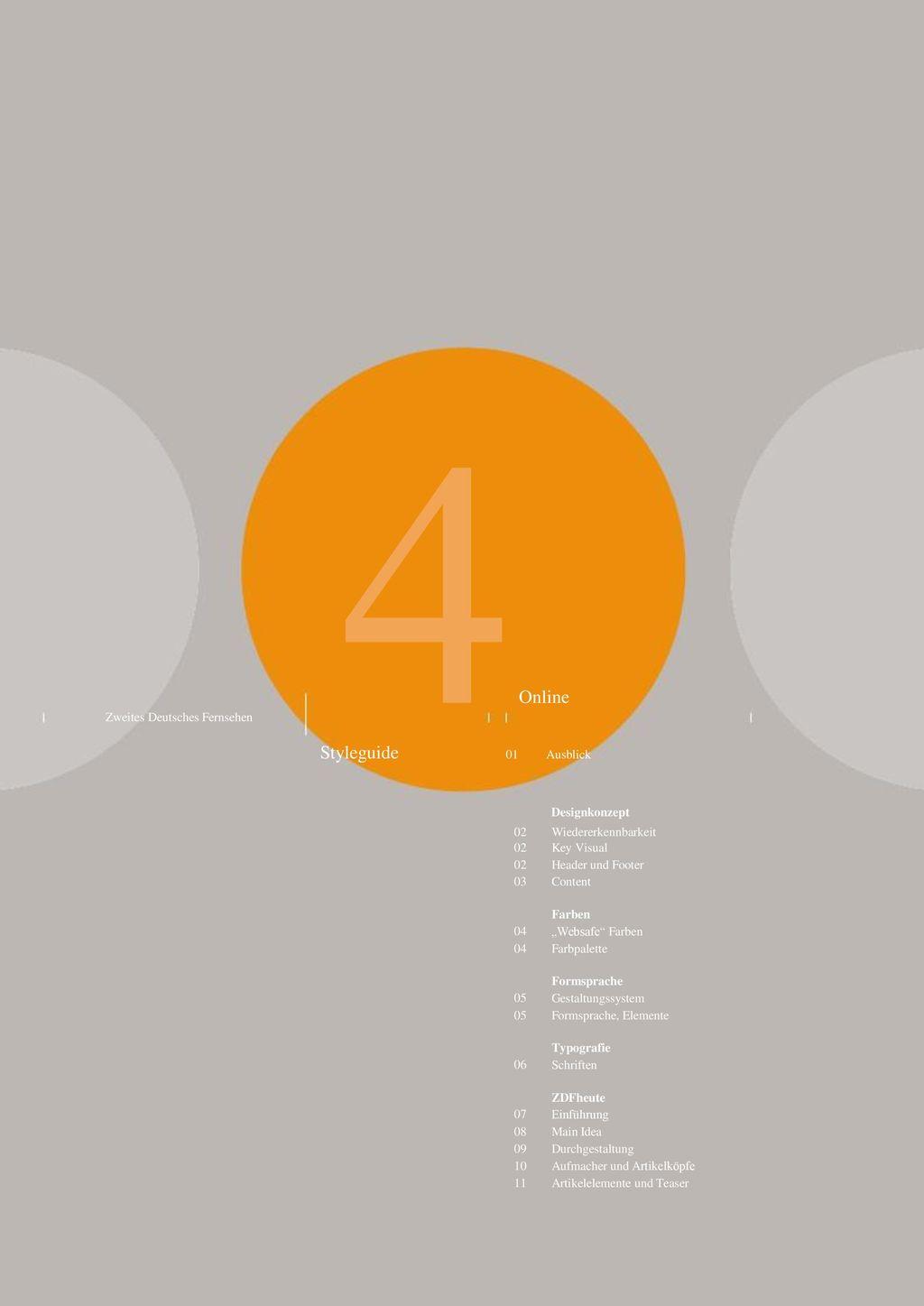 4 Online Designkonzept Styleguide 01 Ausblick