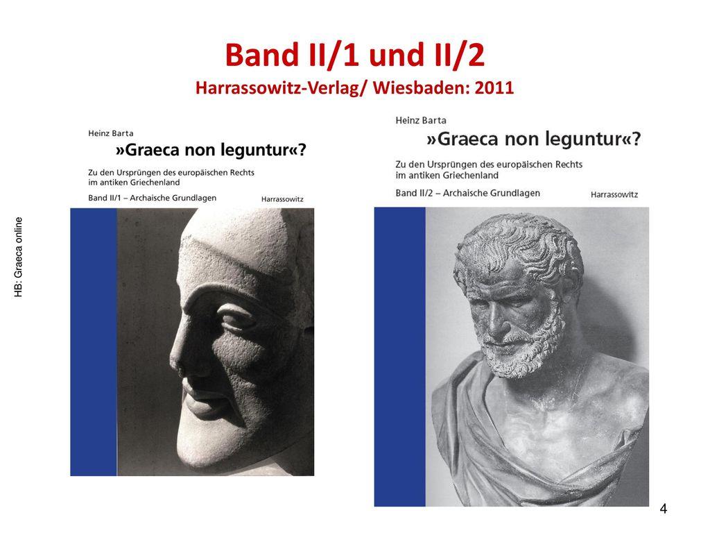 Band II/1 und II/2 Harrassowitz-Verlag/ Wiesbaden: 2011