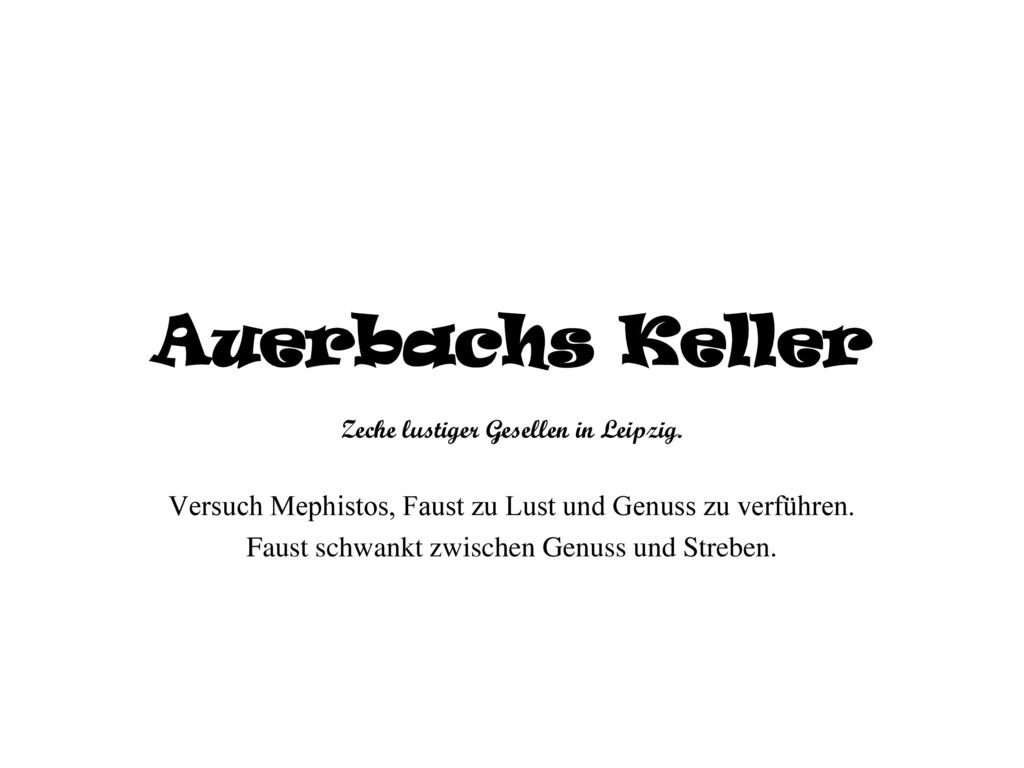 Zeche lustiger Gesellen in Leipzig.