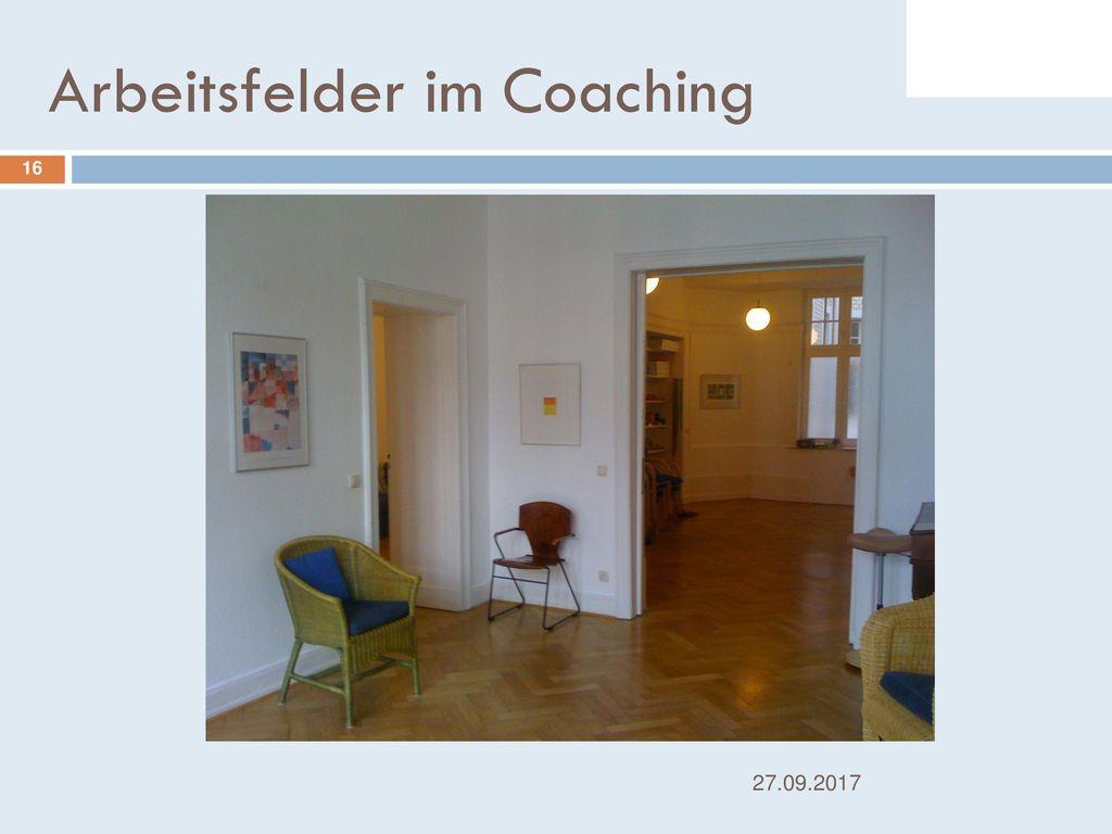 Arbeitsfelder im Coaching