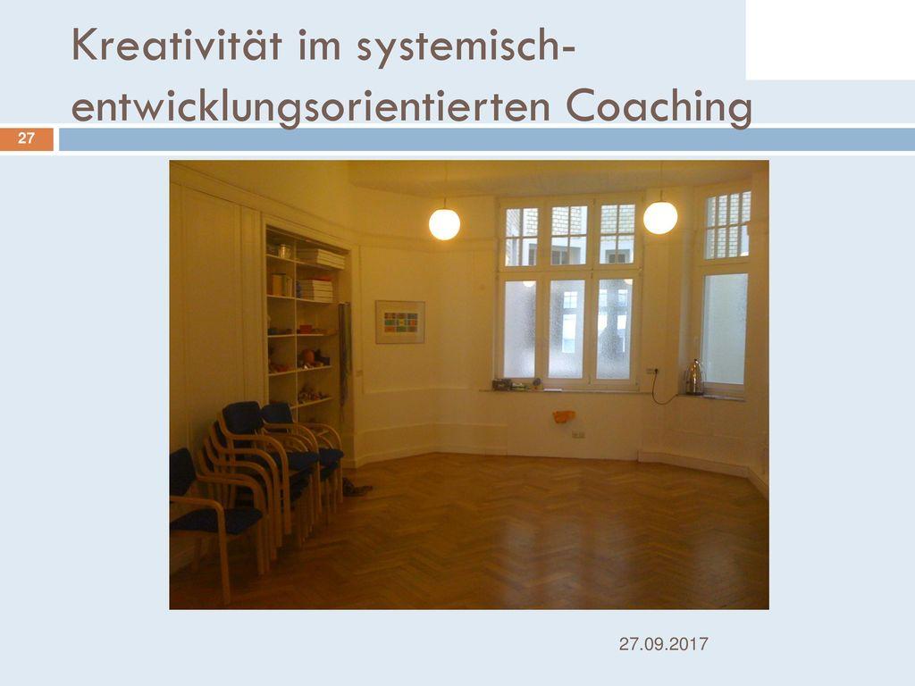 Kreativität im systemisch-entwicklungsorientierten Coaching