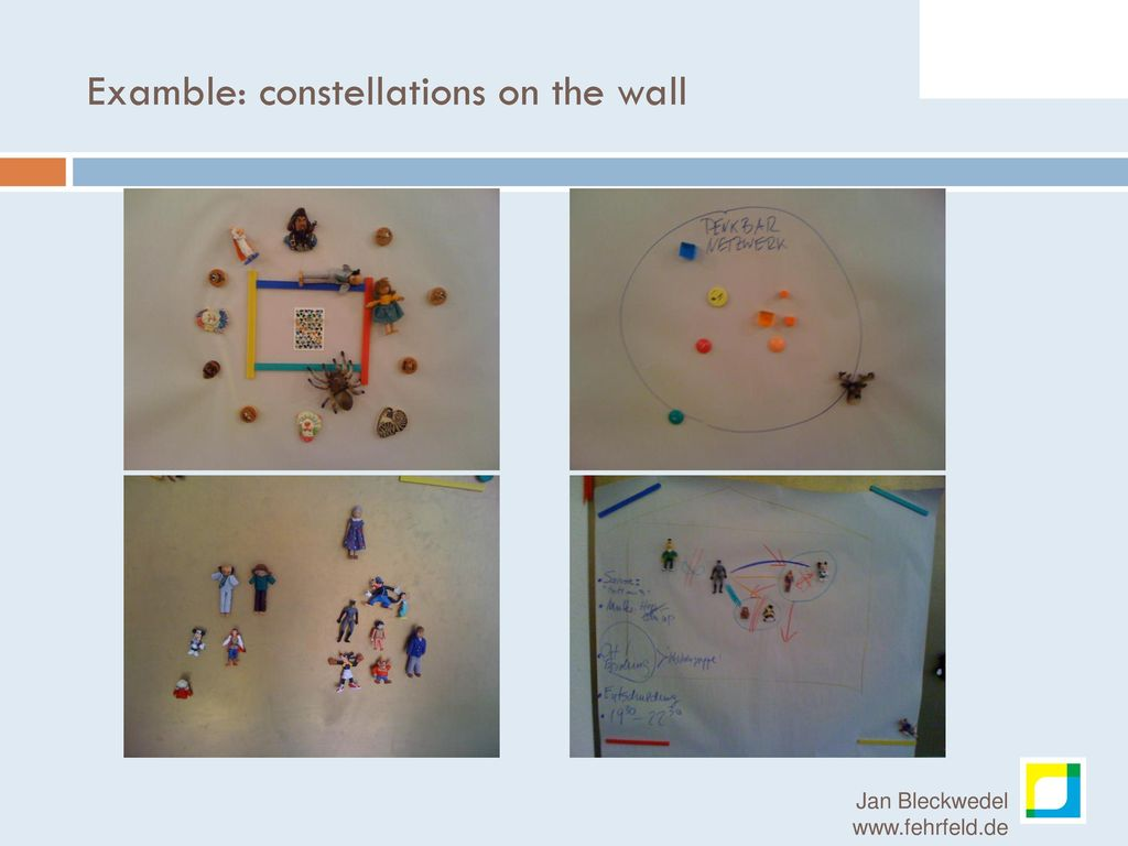 Examble: constellations on the wall