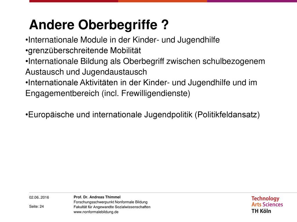 Andere Oberbegriffe Internationale Module in der Kinder- und Jugendhilfe. grenzüberschreitende Mobilität.