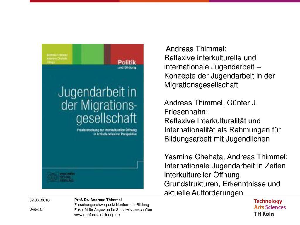 Andreas Thimmel, Günter J. Friesenhahn: