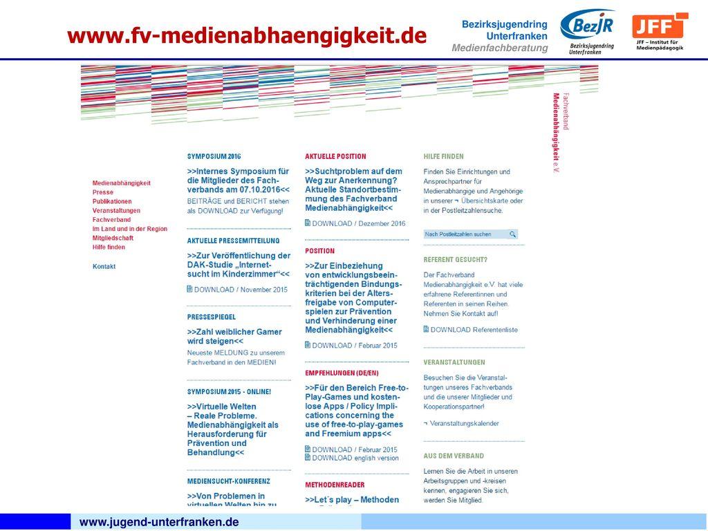 www.fv-medienabhaengigkeit.de
