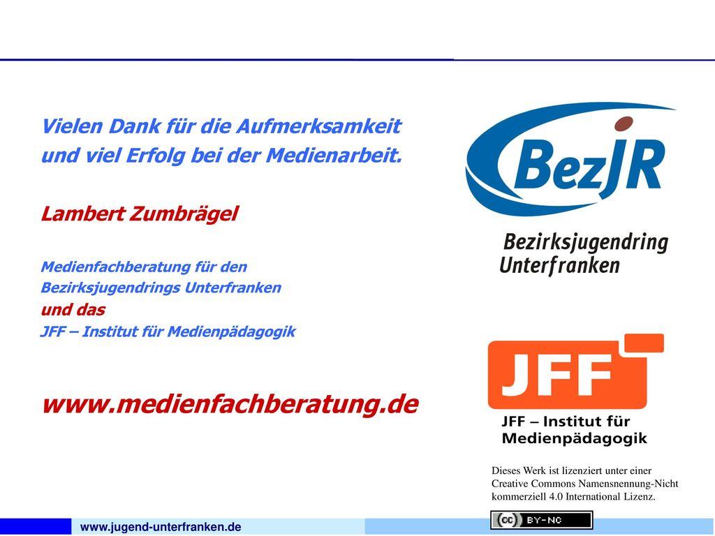 www.medienfachberatung.de Vielen Dank für die Aufmerksamkeit