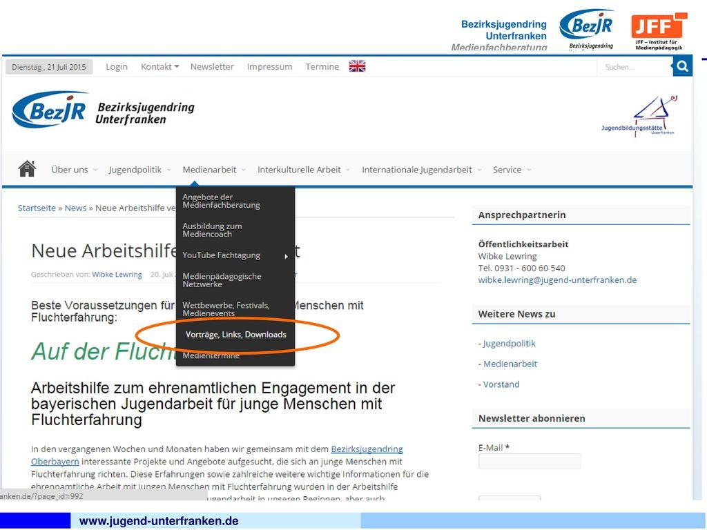 www.jugend-unterfranken.de
