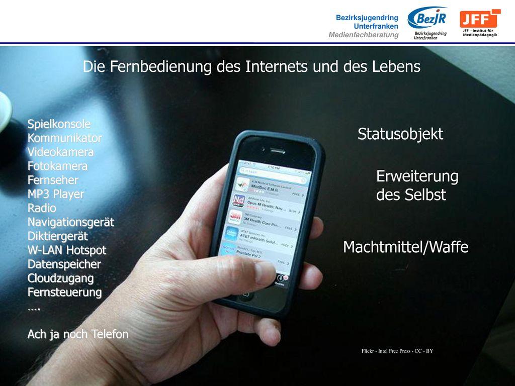 Die Fernbedienung des Internets und des Lebens