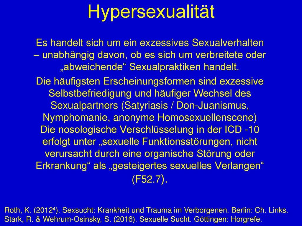 Hypersexualität