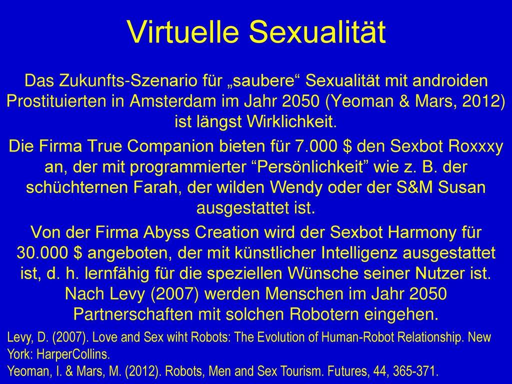 Virtuelle Sexualität