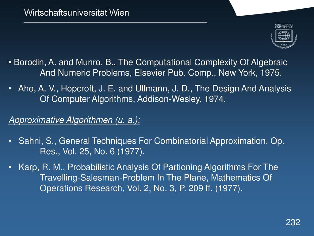 Borodin, A. and Munro, B. , The Computational Complexity Of Algebraic