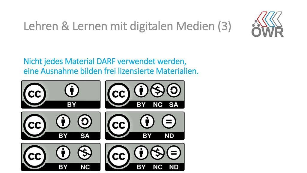 Lehren & Lernen mit digitalen Medien (3)