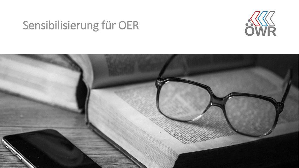 Sensibilisierung für OER
