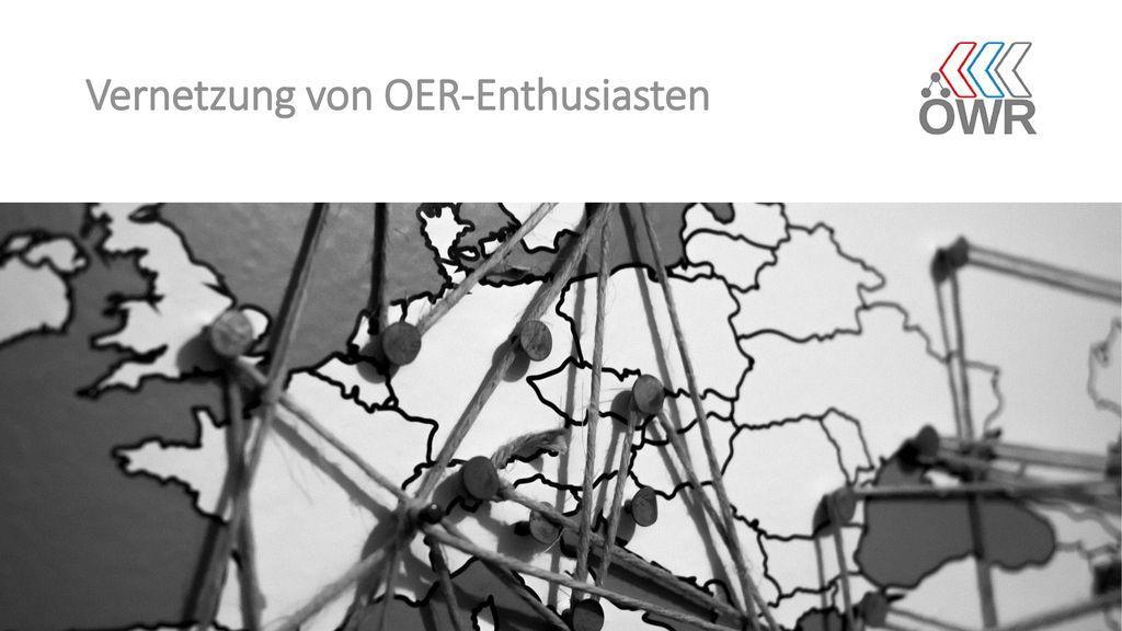 Vernetzung von OER-Enthusiasten