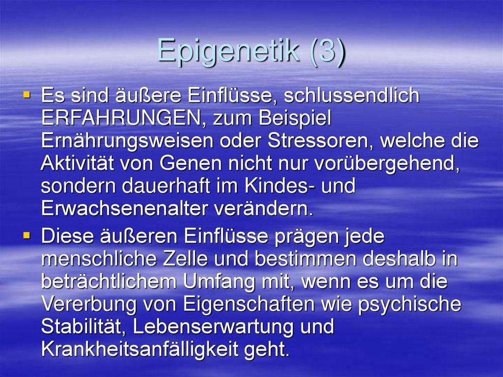 Epigenetik (3)
