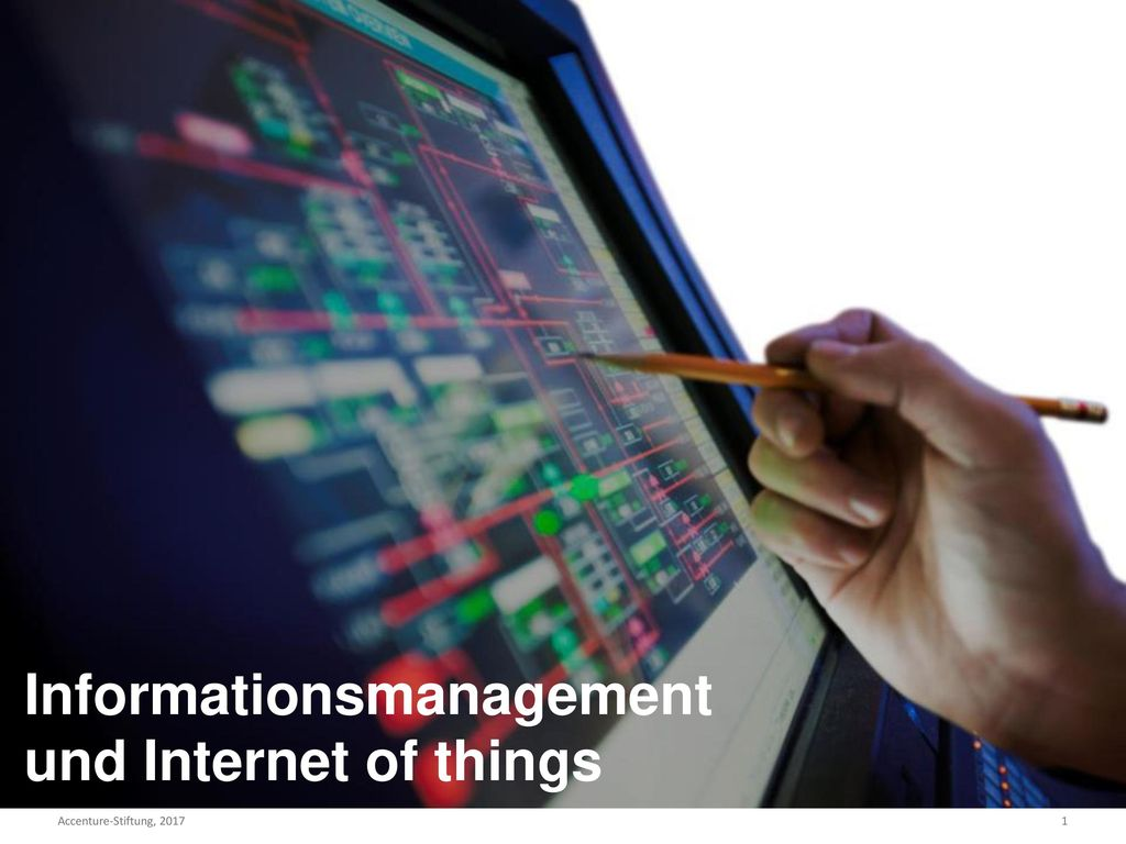 Informationsmanagement und Internet of things