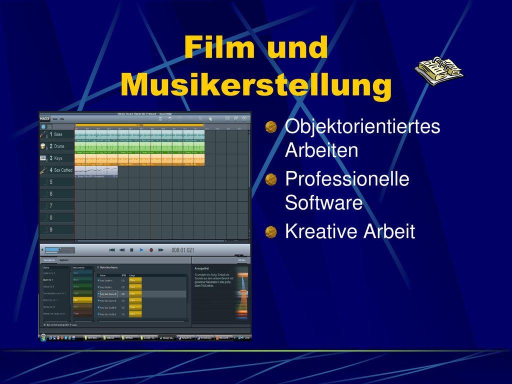 Film und Musikerstellung