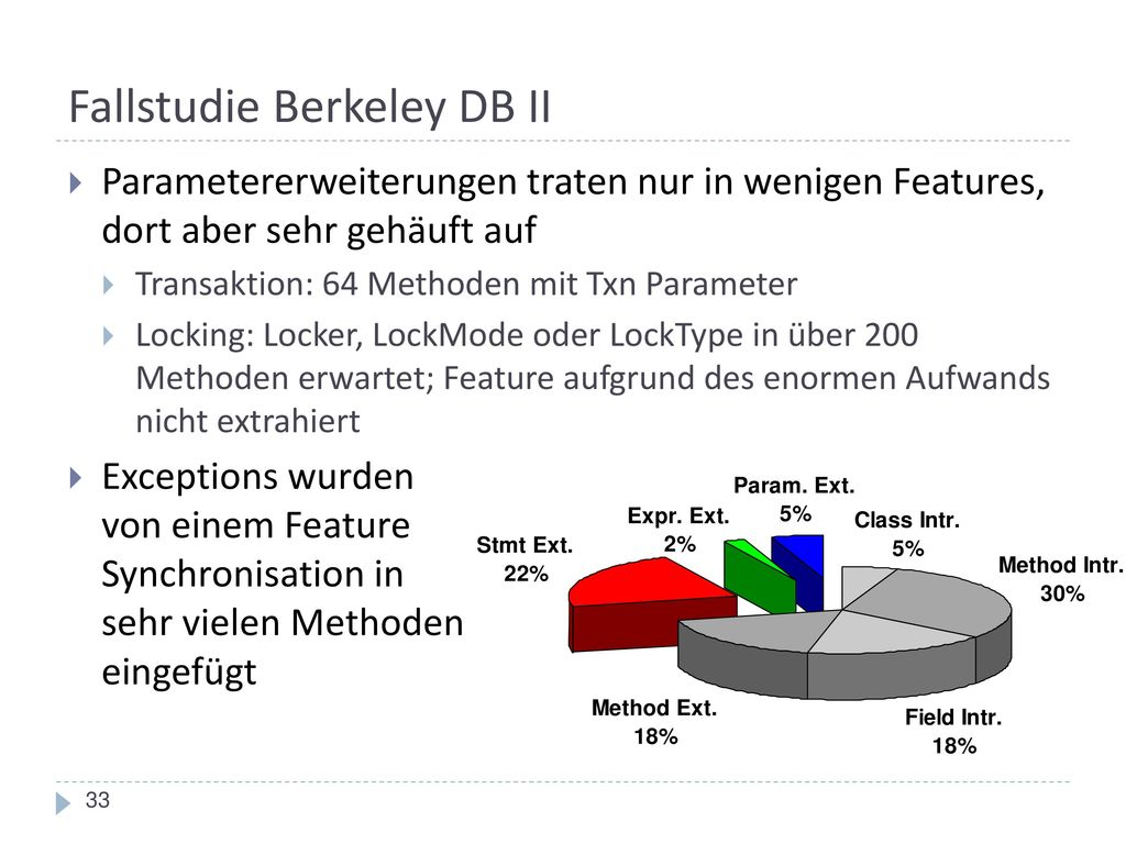 Fallstudie Berkeley DB II