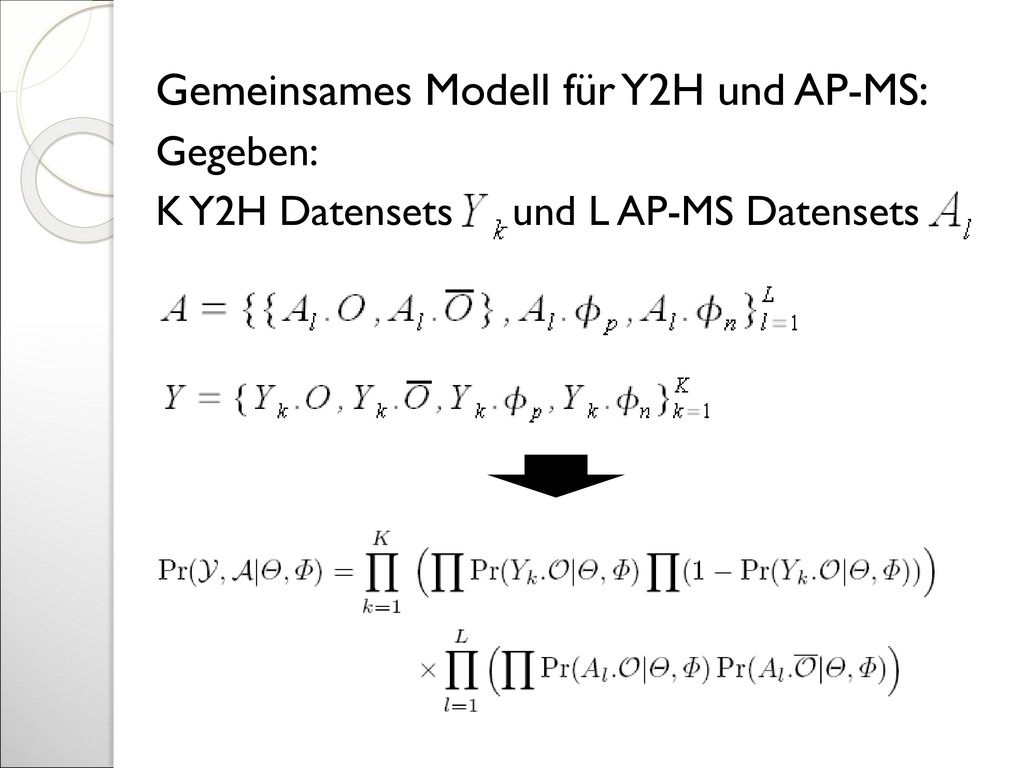 Gemeinsames Modell für Y2H und AP-MS: