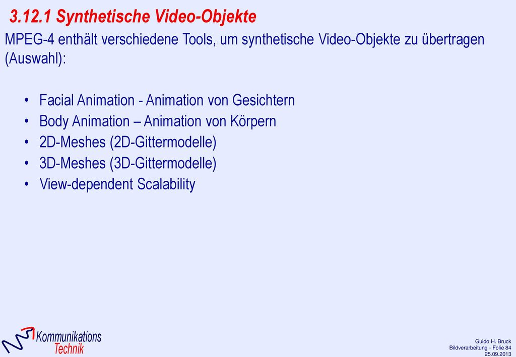 3.12.1 Synthetische Video-Objekte