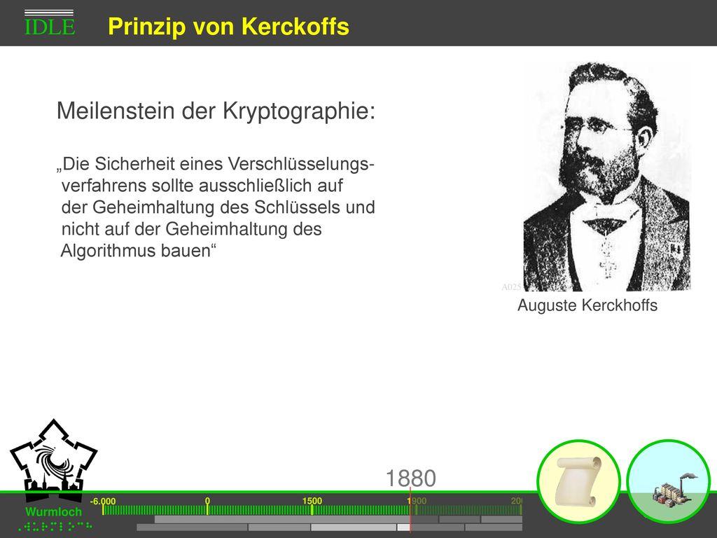 Prinzip von Kerckoffs