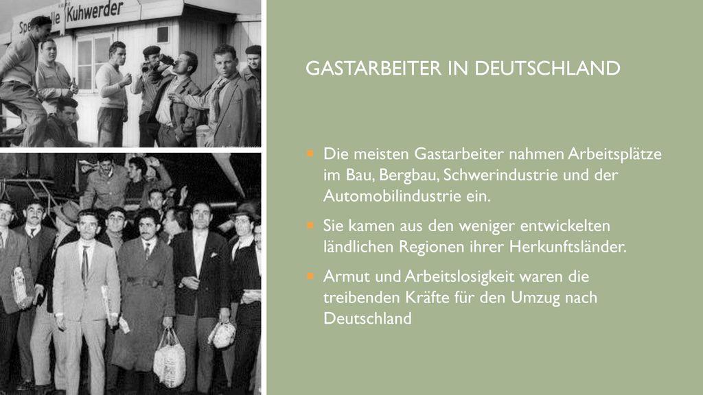Gastarbeiter in Deutschland