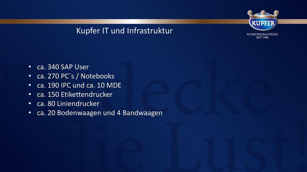 Kupfer IT und Infrastruktur
